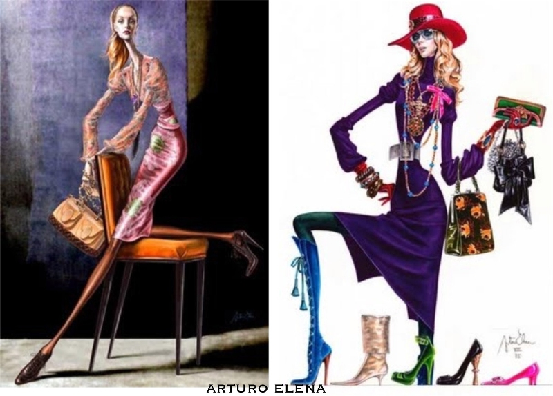 Estremamente illustrazioni moda LY04