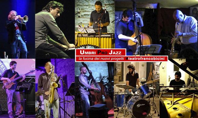 cartolina rassegna Umbri Pro Jazz