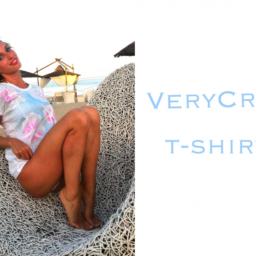 t-shirt-VeryCris linea mare