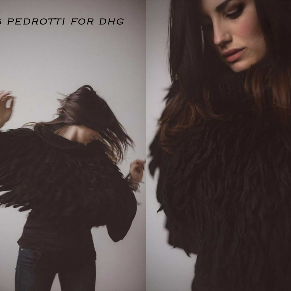 pelliccia poncho -dhg-1
