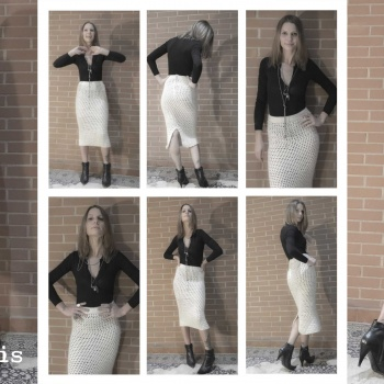 2016-verycris-winter-pencil skirt -w